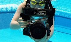 Take photography to new depths with waterproof camera case by performing underwater shots.This features UV coating polycarbonate on the lens for protection.