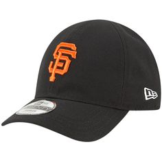 e6a7fde2a90 Infant San Francisco Giants New Era Black My 1st 9TWENTY Adjustable Hat