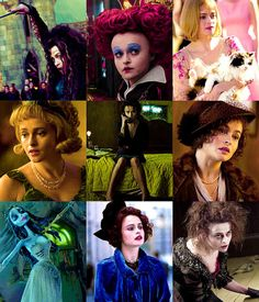 Helena Bonham Carter ...awesome actress !! was great in Alice in Wonderland and Corpse Bride