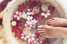 Os benefícios e prazeres de um escalda-pés                                                                                                                                                                                 Mais