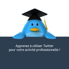 Apprenez à utiliser #Twitter pour votre activité professionnelle.
