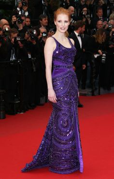 Best Dressed at The 66th Annual Cannes International Film Festival: Jessica Chastain in custom Givenchy Couture by Riccardo Tisci