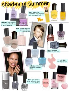 spring 2011 nail color, nail trends 2011, chanel mimosa