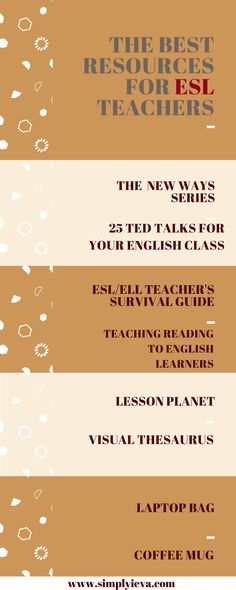 ESL resources; ESL teaching resources; Books for ESL teachers; teaching essentials; ESL teaching ideas
