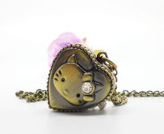 Aliexpress.com : Buy Free shipping wholesale 2013 antique Hello Kitty pendant watch hot sale dropship from Reliable free pocket watch suppli...