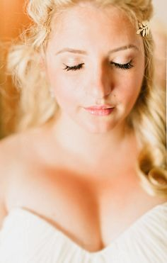 Natural Bridal Make Up | Intimate Italian Castle Wedding | Facibeni Fotografia | Bridal Musings Wedding Blog