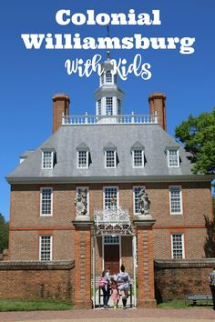 #travel What to See and Do in Colonial Williamsburg with Kids