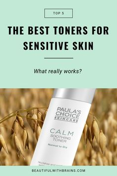 Sensitive skin can benefit from soothing, hydrating toners. Click this pin for the best toners for sensitive skin. Skin Care Regimen, Skin Care Tips, Organic Skin Care, Natural Skin Care, Paula's Choice Skincare, Best Toner, Skin Toner, Sensitive Skin Care, Happy Skin