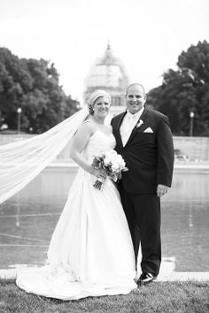 only in dc wedding photo