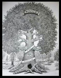 11x14 Custom Family Tree Illustration by StoryTree on Etsy