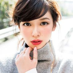 編み込みなんかできませーん♡編み込みなしで可愛い3分アレンジ - Locari(ロカリ) Le Jolie, Makeup Looks, Asian Make Up, K Beauty, Beauty Make Up, Asian Beauty, Beauty Women, Hair Beauty, Japanese Makeup