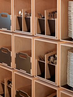 NOMA Food Lab in Copenhagen. Nordic #design for modular fornitures: natural, warm and useful