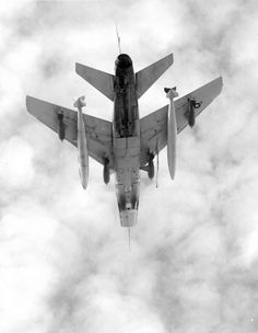 F-100 Super Sabre over Vietnam