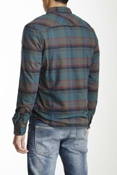 Life After Denim Pineforest Flannel Shirt
