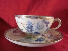 Antique Teacup & Saucer - Unknown Manufacturer photo