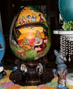 Easter Egg at The Grand Floridian Hotel at the Walt Disney World Restort