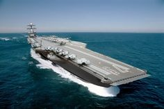 This is America's new $13 billion warship-The ship will feature a host of changes over the current Nimitz-class carrier. Ford-class carriers will be capable of generating three times more electrical power than the older carrier classes, for example. This increased electrical power supply allows the Ford to use the newly designed Electro-Magnetic Aircraft Launch System (EMALS), which will allow the vessel to launch 25% more aircraft a day than the previous steam-powered launch systems.