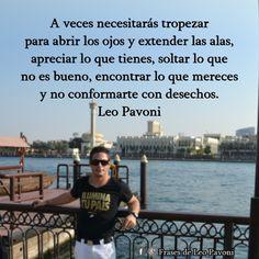 #Leopavoni #Frasesdeleopavoni #Reflexionesdeleopavoni