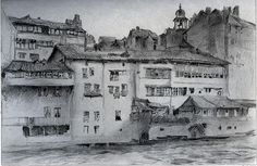 Old Houses at Geneva, by John Ruskin