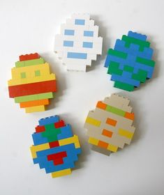 Lego For Kids, Diy For Kids, Crafts For Kids, Diy Crafts, Easter Activities For Kids, Kids Learning Activities, Lego Duplo, Lego Club, Lego Instructions