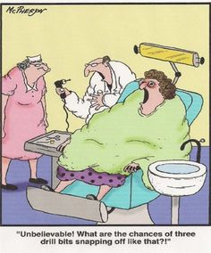 Dental Humor - Identalhub I love this! Dentist Cartoon, Dentist Humor, Medical Humor, Dental Humour, Dental Life, Smile Dental, Dental Assistant, Dental Hygienist, Dental Fun Facts