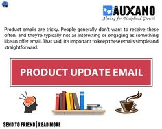 Product Update Email