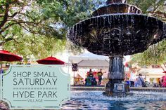 #TampaLove ::: Shop Small Saturday in Hyde Park Village |