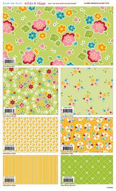 Bloom and Bliss by Nadra Ridgeway for Riley Blake Designs