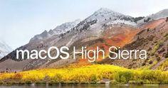 Apple libera MacOS High Sierra estas son sus novedades