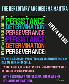 HAE, Hereditary angioedema, chronic illness, inherited disease, rare disease