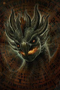 ✯ Lava Dragon by *Kerembeyit*✯