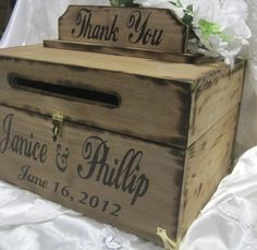 Image result for wedding card box ideas