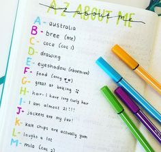 *breathes heavily*   25 Satisfying Bullet Journal Layouts That'll Soothe Your…