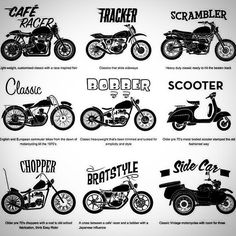 cafe racer vs scrambler - Google Search