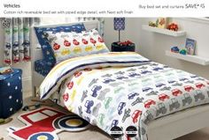 Buy Vehicles Cotton Rich Bedset from the Next UK online shop