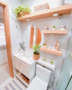 Home Room Design, Dream Home Design, Home Interior Design, Minimalist Bathroom Design, Bathroom Design Luxury, Small Bathroom Inspiration, Small Bathroom Layout, Home Kitchens, Diy Home Decor
