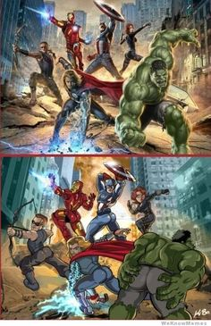 this should've been the Avengers Poster…