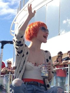 Hayley Williams | Look at that bustier! < 3