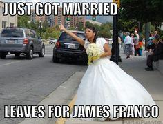 James Franco Runaway Bride