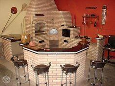 Quem é que tendo uma boa área de lazer em sua casa não quer fazer um bela churrasqueira, heim? Aqui segue 5 imagens de belas churrasqueiras para vocês se inspi