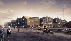 Galeria de Kullegaard vence concurso para o complexo portuário de Holbæk, Dinamarca - 1