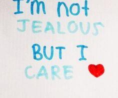 But I'm jealous too. Lol