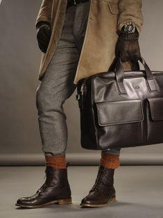Tyler Kenyon by Rodolfo Martinez for WWD - Nice leather accessories
