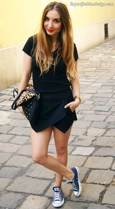 20 Amazing Ways to Wear the Skorts for a Care Free Style - 13 #Dresses