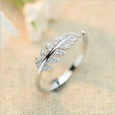 Find More Rings Information about Simple Luxury Engagement Rings For Women 925 Sterling Silver Zircon Leaves Wedding Ring CZ Diamond Jewelry Bague Bijoux C8,High Quality ring topaz,China ring jewelry making Suppliers, Cheap ring cooking from Romantic Jewelry Factory on Aliexpress.com