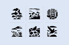 Helmi – habitats program on Behance Icon Design, Web Design, Visual Communication, Graphic Design Illustration, Programming, Habitats, Helmet, Behance, Branding