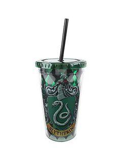 Harry Potter Slytherin Reusable Tumbler,