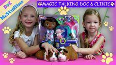 Doc McStuffins Pet Vet Magic Talking Doc and Clinic - Disney Junior
