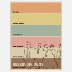 Fab.com | Reservoir Dogs Inspired 18x24