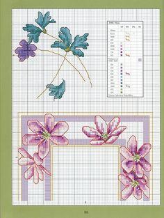Gallery.ru / Фото #84 - Cross-Stitch Florals - Stepaniya